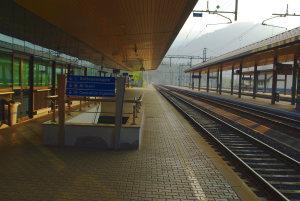 Verlassene Bahnstation in Tarvisio