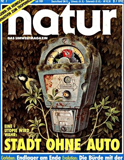 natur-Cover Ausgabe Juli 1989