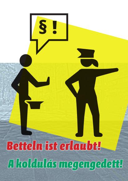 Betteln ist erlaubt - Broschüre Bettellobby Wien