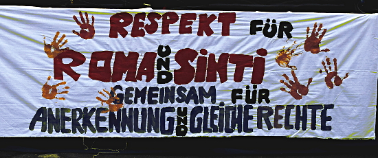 Respekt und gleiche Rechte für Roma und Sinti, Roma Pride 2013 in Wien