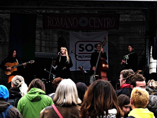 Harri Stojka mit Band, Roma Pride am 6.10.2103, Wien