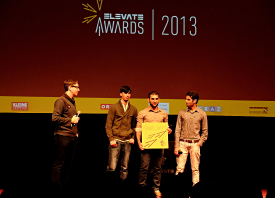 "International Elevate Award: ""This award is not only for us, this award is for all people who fight for human rights."""