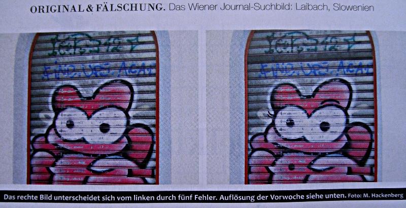 Suchbild im Wiener Journal