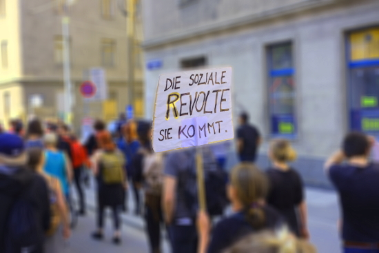 Die soziale Revolte, sie kommt