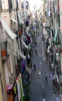 Straße in Raval, Barcelona