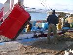 Berufsfischer in El Port de la Selva