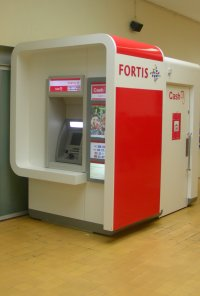 Geldmaschine Fortis Bank