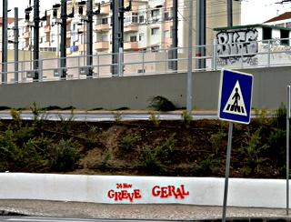 greve geral - Generalstreik