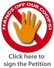 Hände weg von unseren Genossenschaften