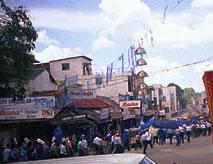 Kundgebung zum 1. Mai, Kandy, Sri Lanka