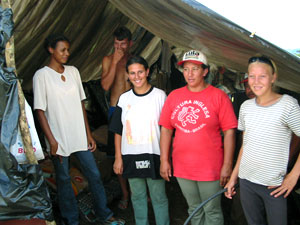Assentamento Contestado, eine MST-Landbesetzung in Lapa