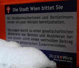Die Stadt Wien bittet Sie