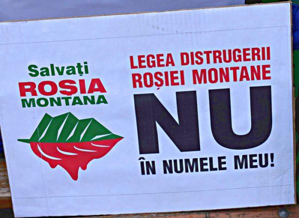 Save Roșia Montană - Rettet Roșia Montană