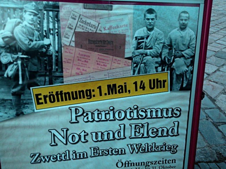 Patriotismus - Not - Elend. Der Dreiklang des Unglücks