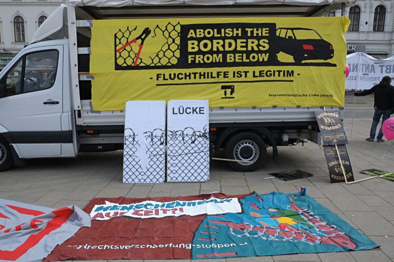 Abolish the borders from below - Fluchthilfe ist legitim