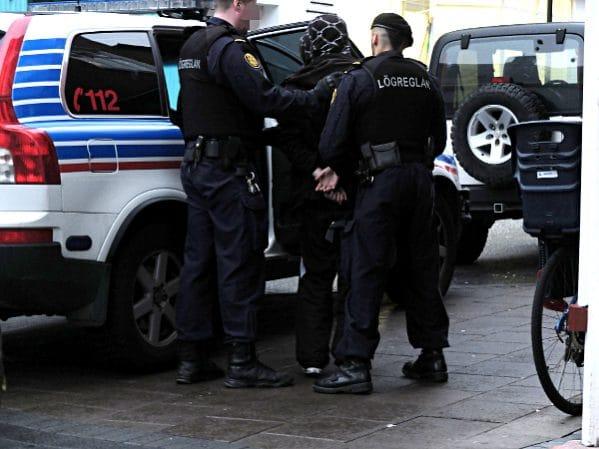 Staatliche Repression in Reykjavik