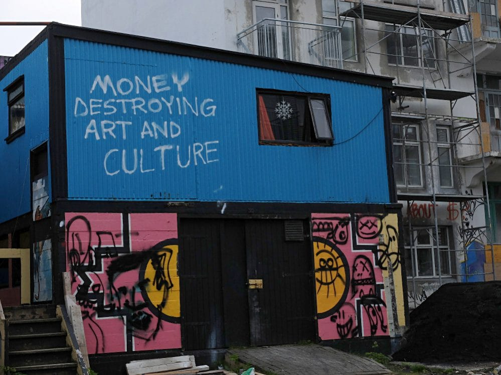 Gentrification in Reykjavik - Money Destroying Art and Culture