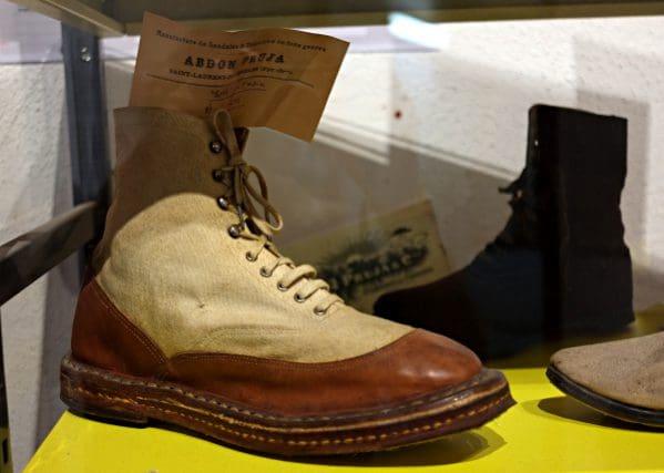 Schuhe aus der Produktion der Union Sandalière