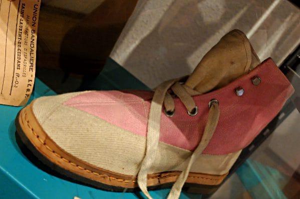 Schuh aus der Produktion der Union Sandalière