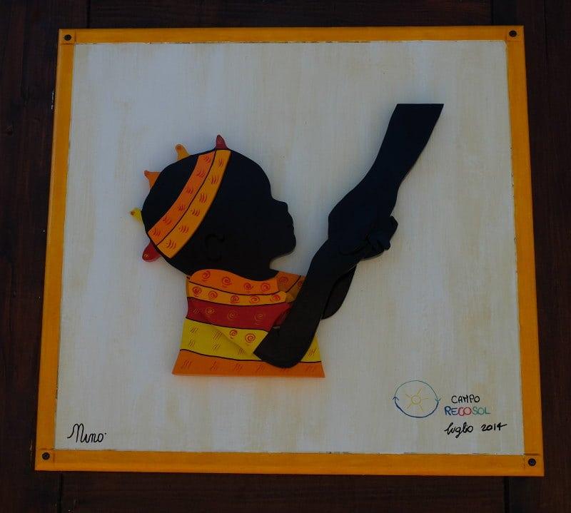 Relief - StreetArt, Riace