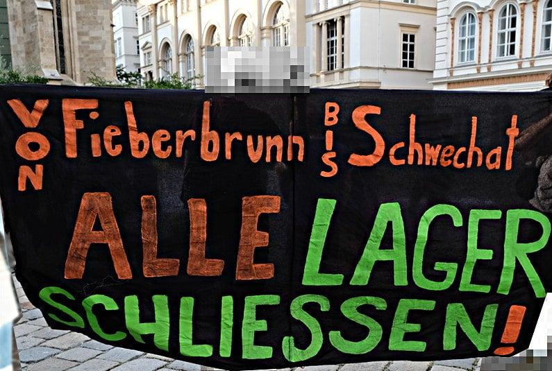 Transparent: Von Fieberbrunn bis Schwechat: Alle Lager schliessen!